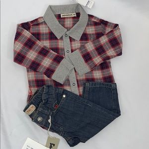 Imps & Elf's  NWT Baby Boy Outfit Set